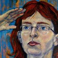 Artist Explorer (self portrait)