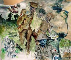 Panel 1: (detail) Gallipoli