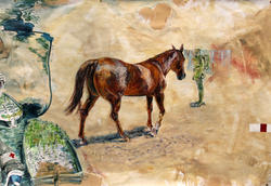 Panel 1: (detail) horse