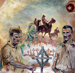 Panel 2: Sinai Campaign (detail) Battle of Rafah